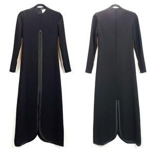 Vintage Bill Blass Wool Silk Lined Couture Dress
